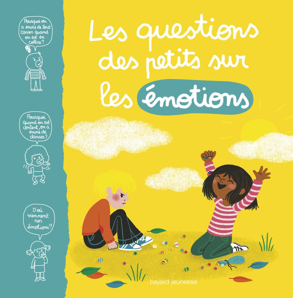 «Les questions des petits sur les émotions» cover