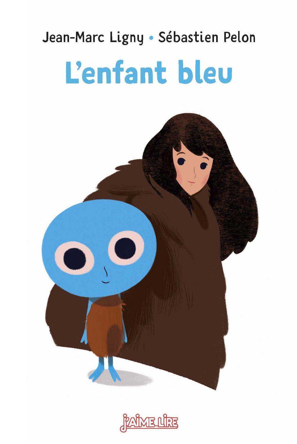 Couverture de «L'enfant bleu»