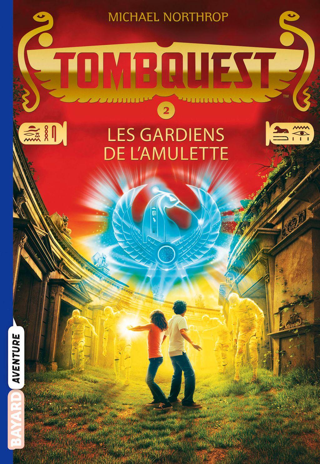 Couverture de «Les Gardiens de l'amulette»
