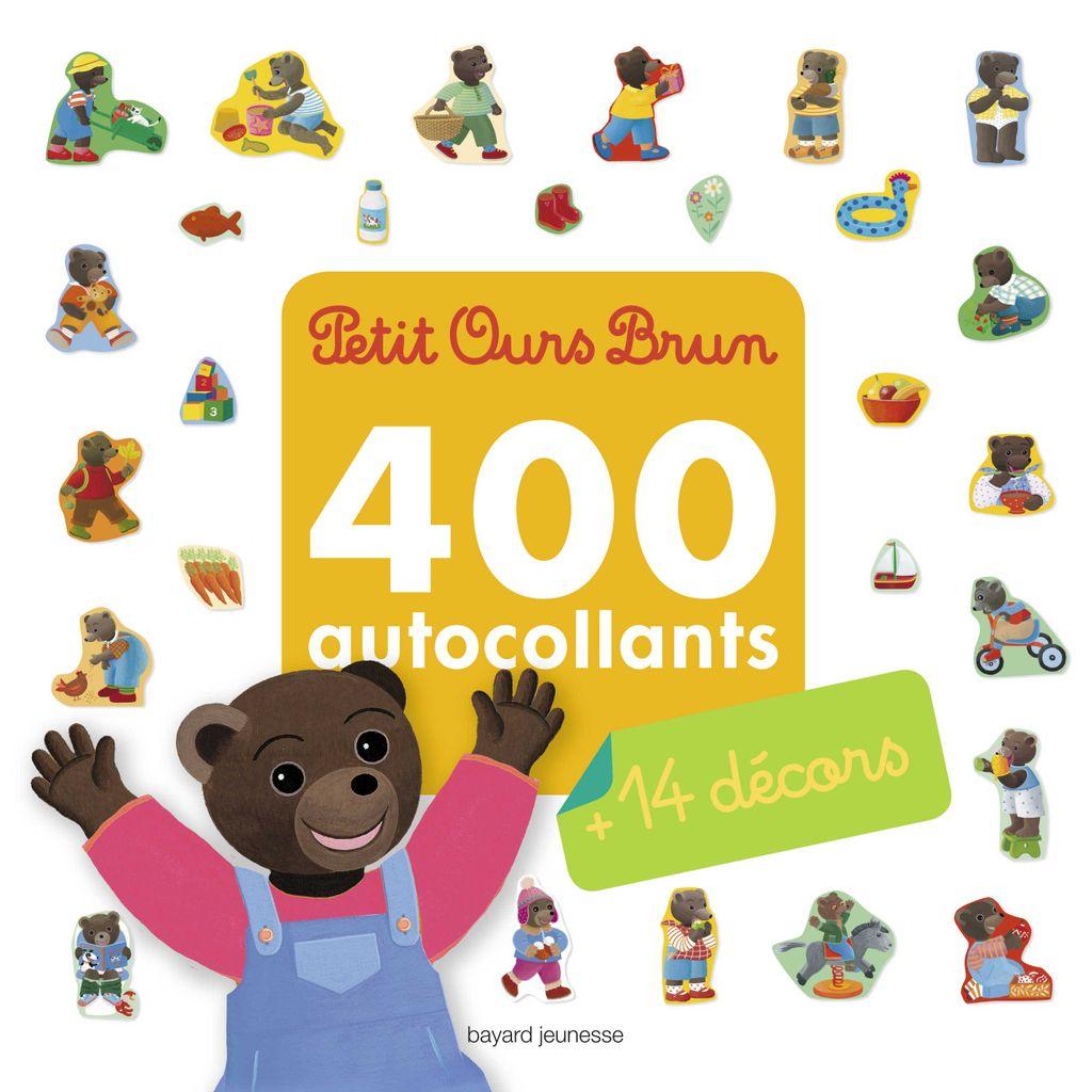 Joyeux Noel Petit Ours Brun.Mon Grand Livre D Autocollants De Petit Ours Brun 400
