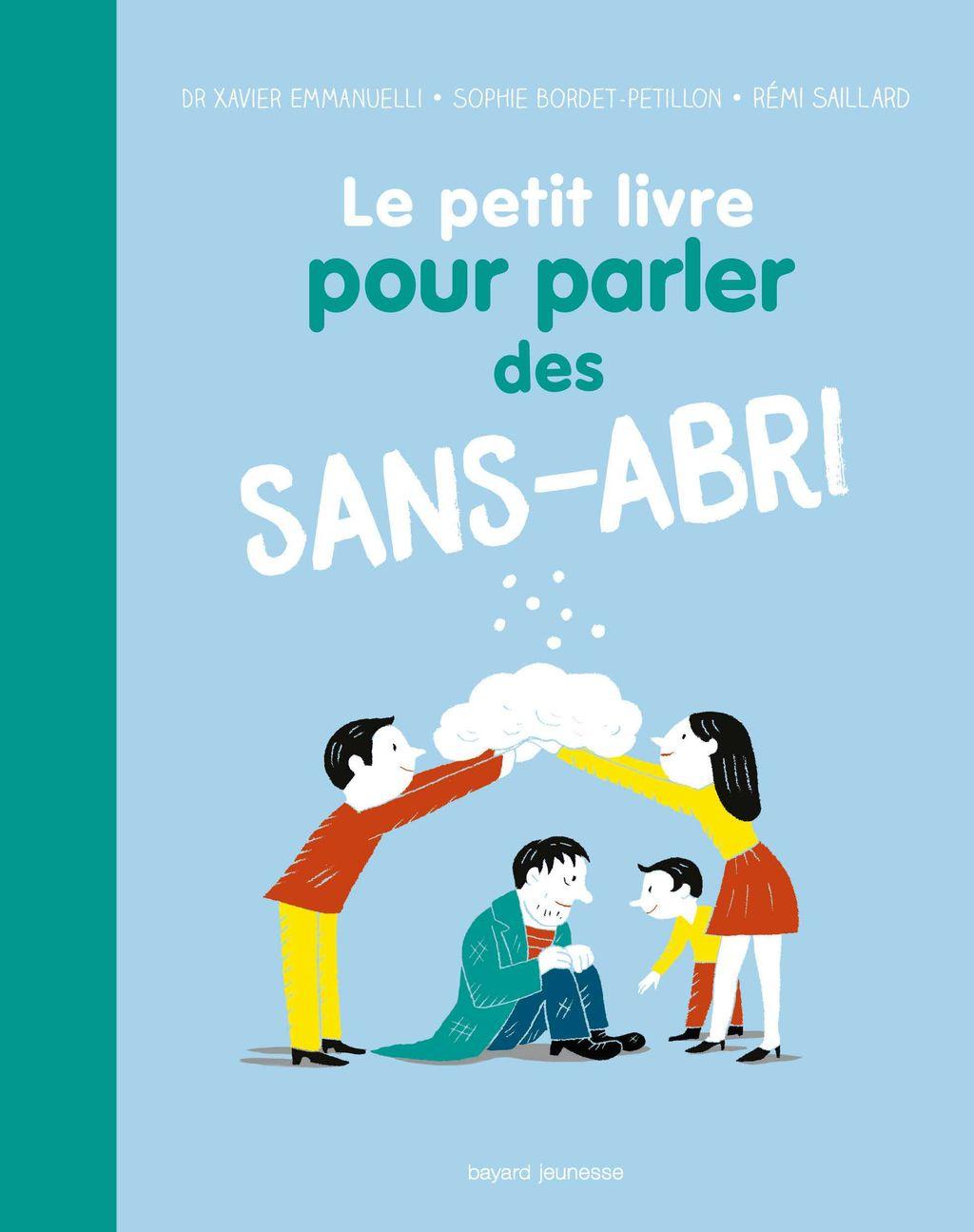 «Le petit livre pour parler des sans-abri» cover