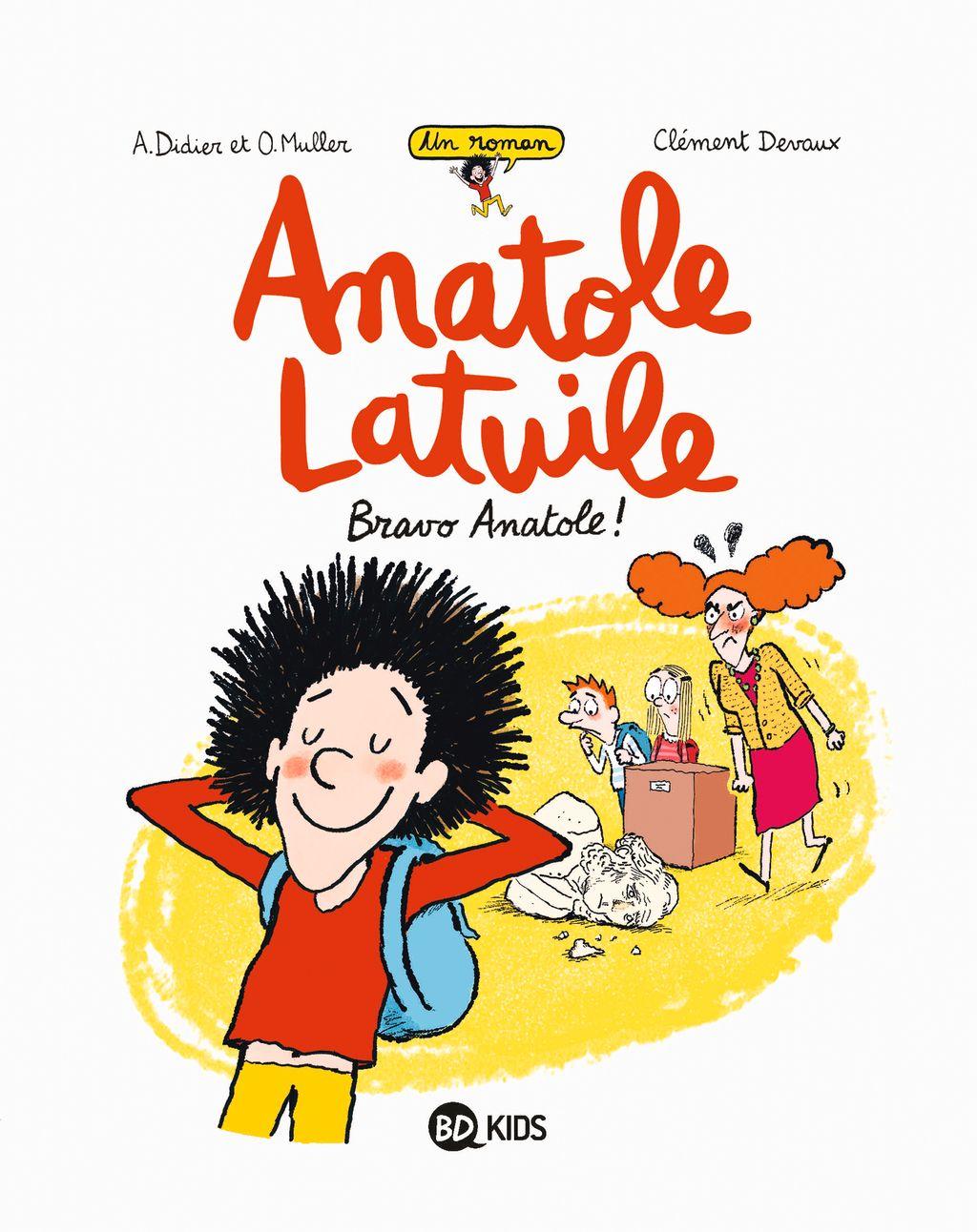 Couverture de «Bravo Anatole !»