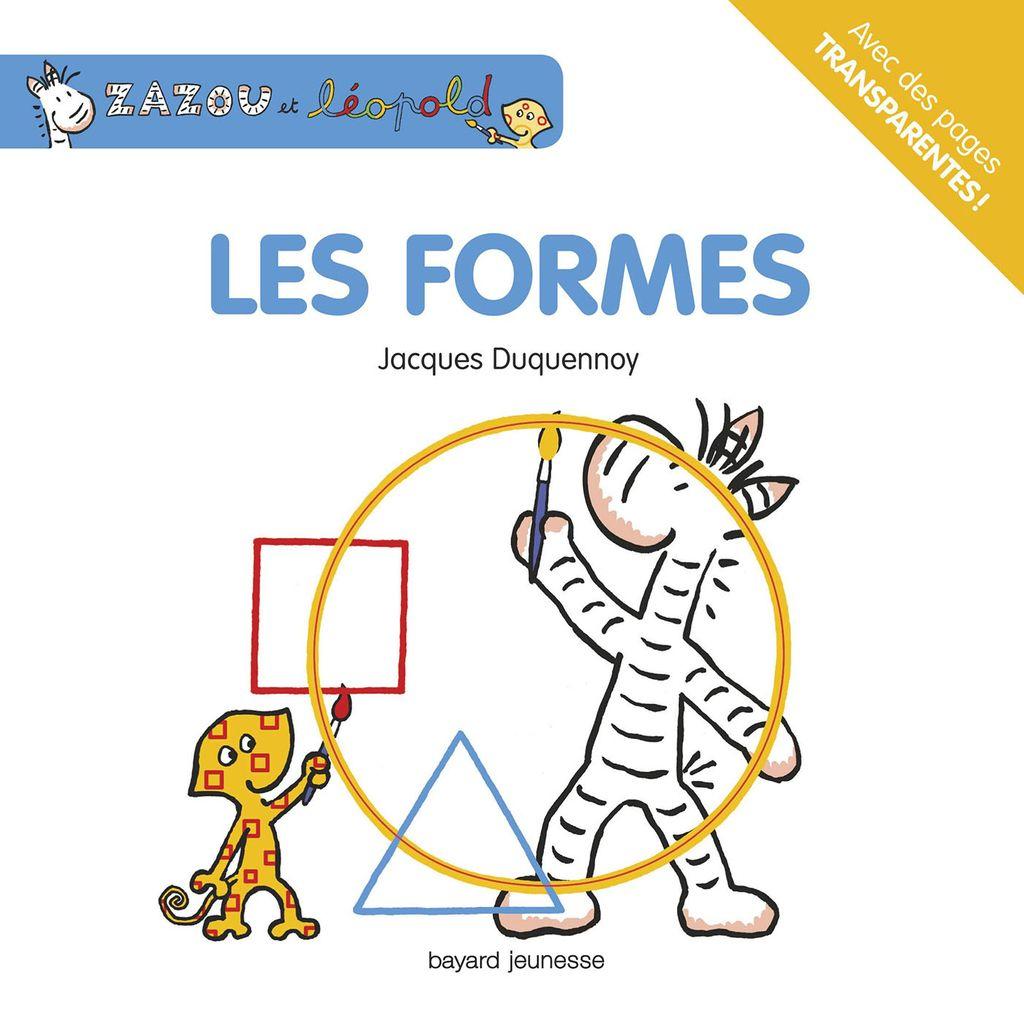 Couverture de «NED Zazou et Léopold Les formes»