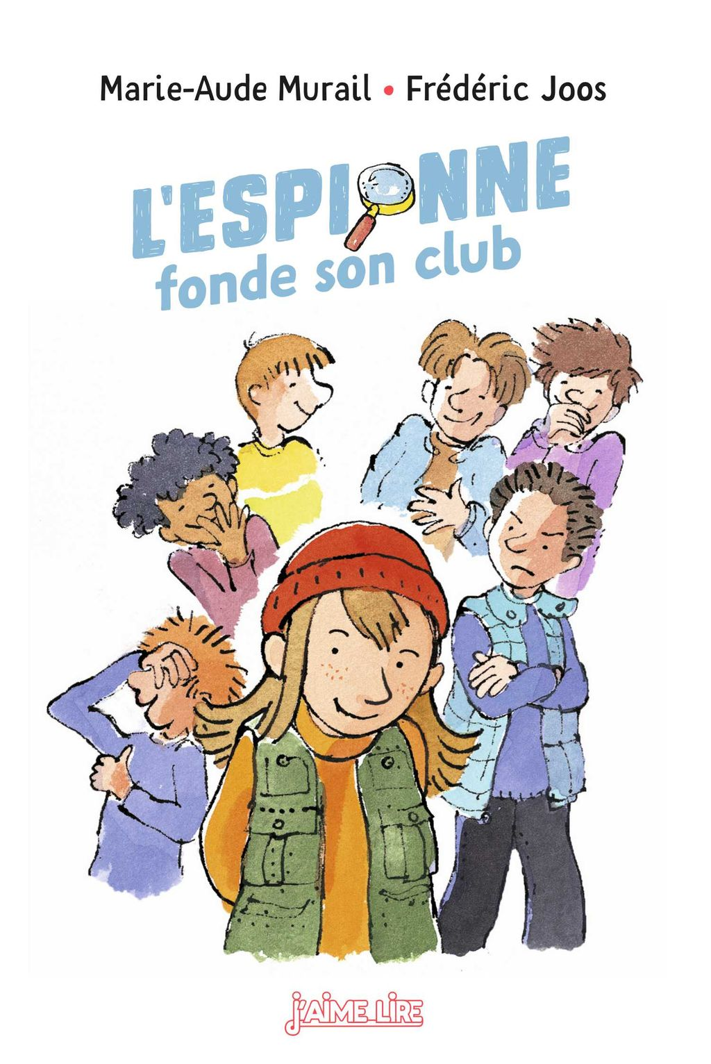 « L'espionne fonde son club » cover