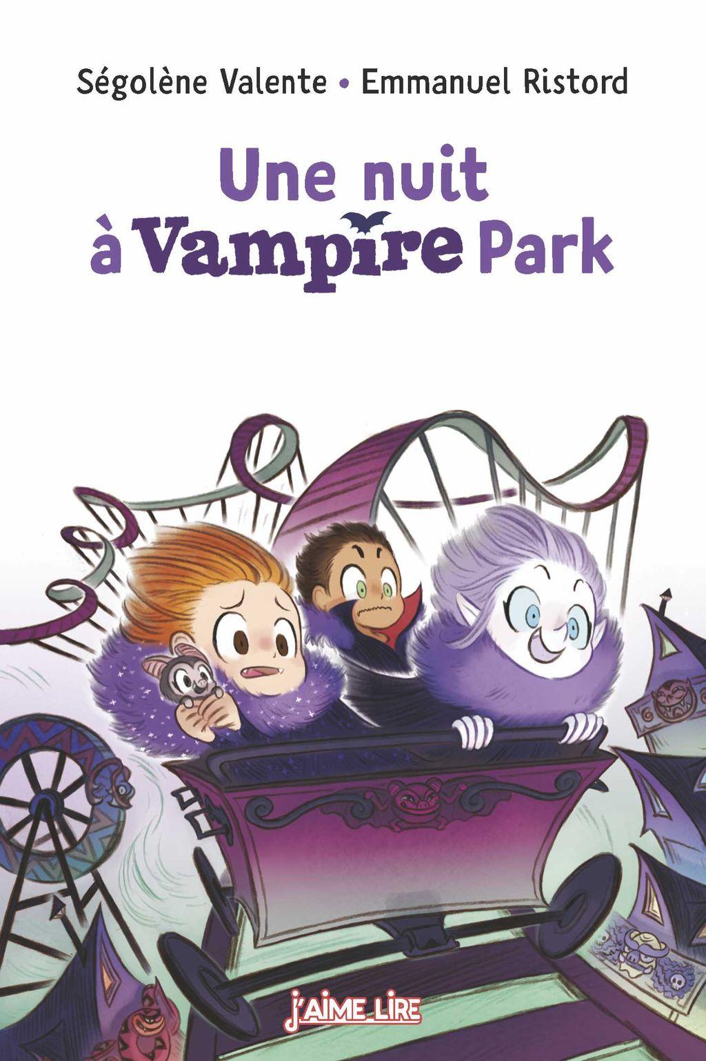 Couverture de «Une nuit à Vampire Park»