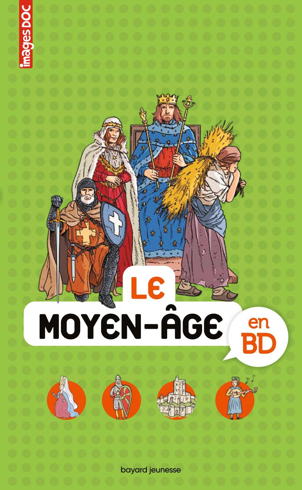 Couverture de «Le moyen âge en BD»