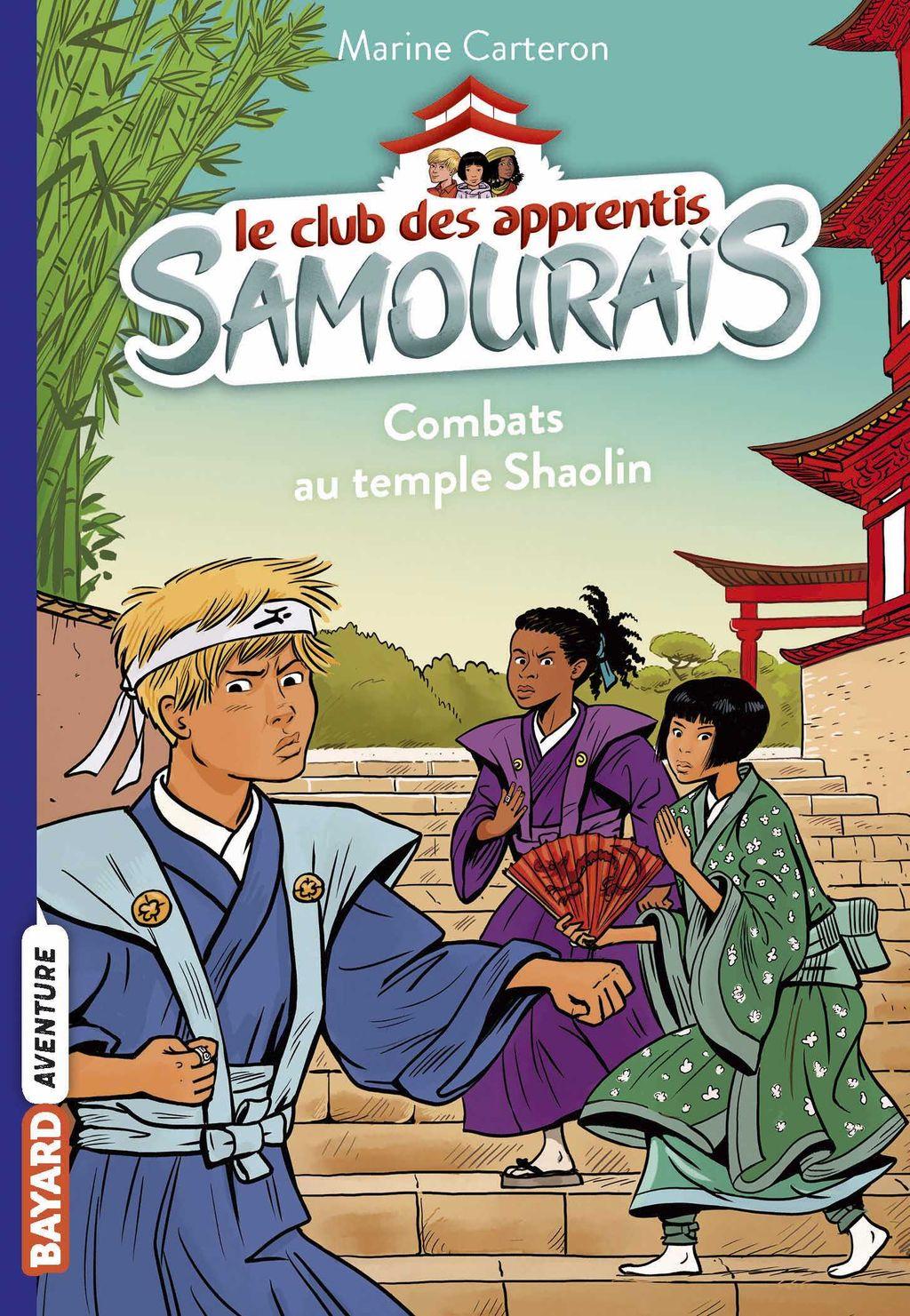 Couverture de «Combats au temple Shaolin»