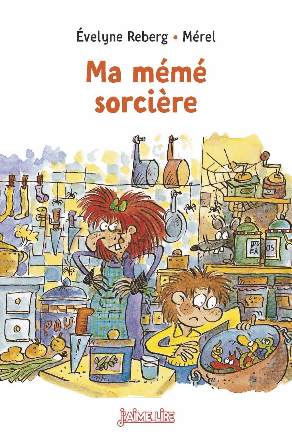 «Ma mémé sorcière» cover