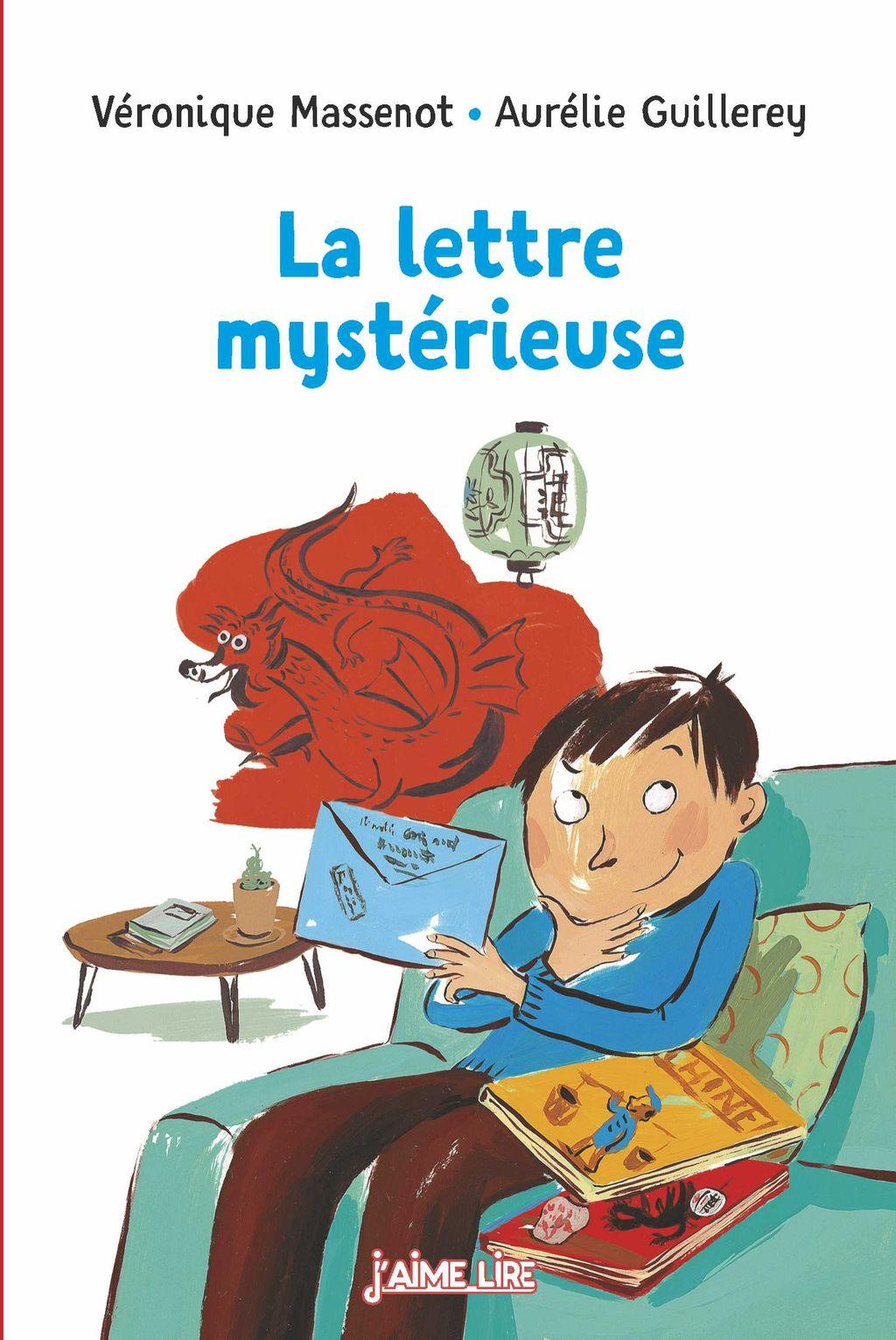 «La lettre mystérieuse» cover