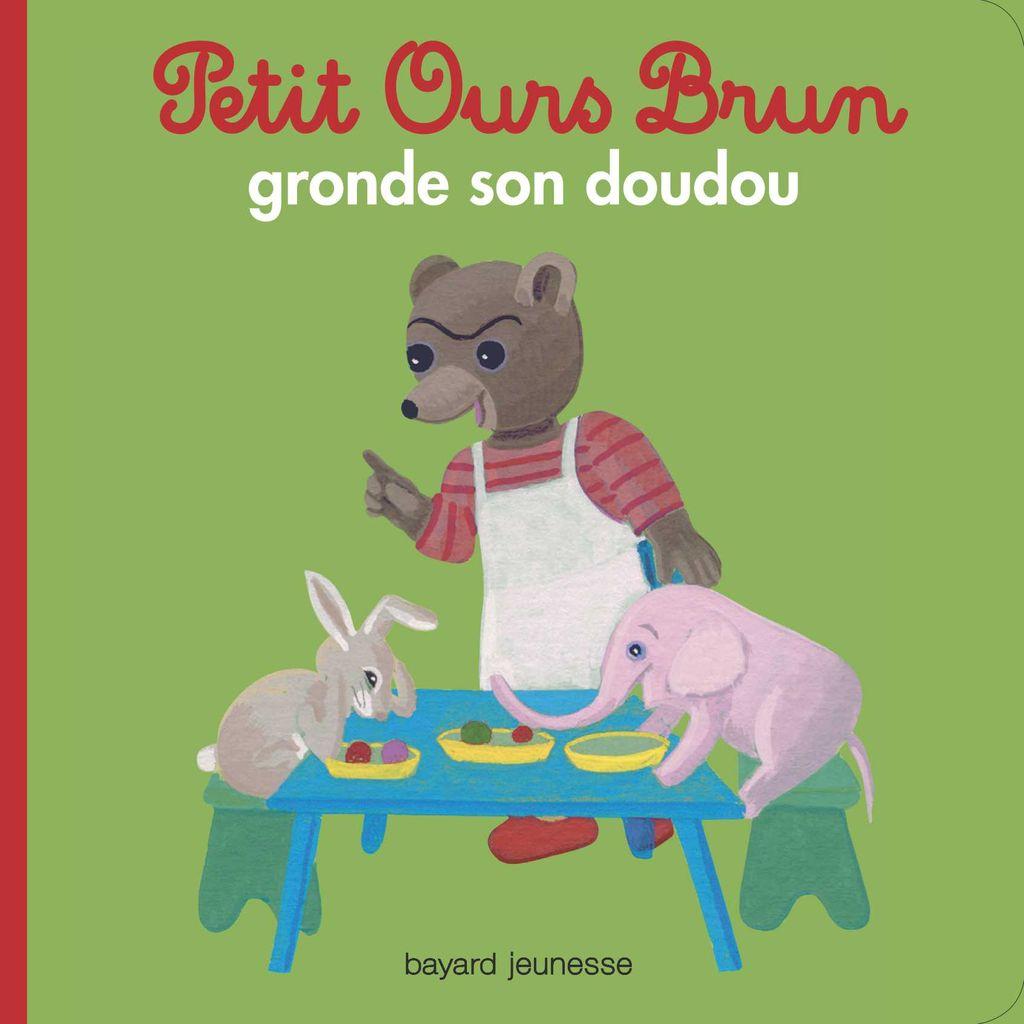 Couverture de «Petit Ours Brun gronde son doudou»