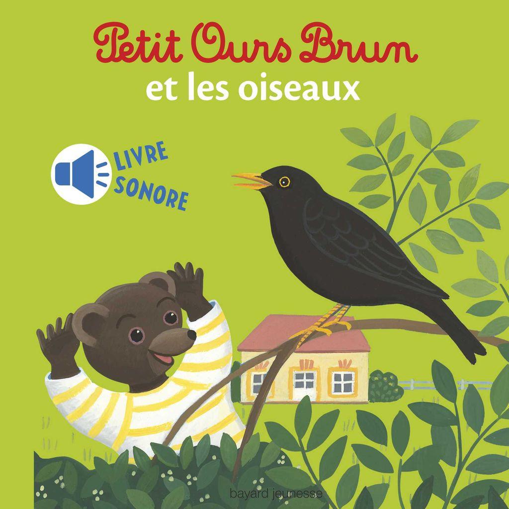 Couverture de «Mini sonore Petit Ours Brun et les oiseaux»