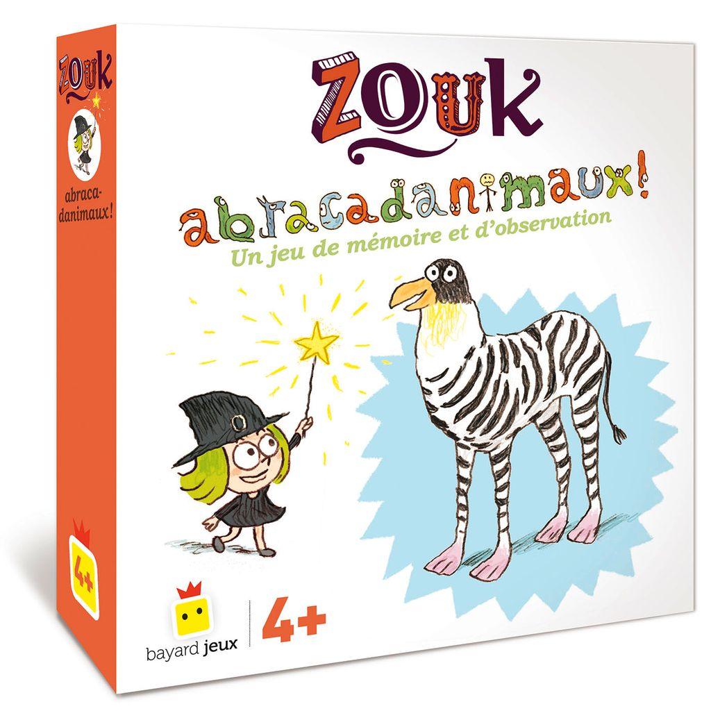 Couverture de «Jeu Zouk – Abracadanimaux»