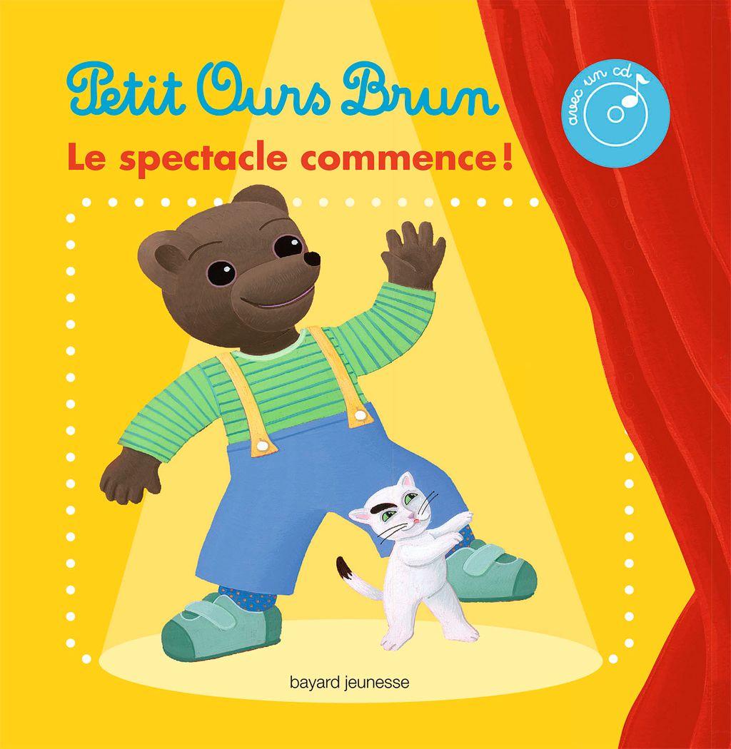 Couverture de «Le livre-CD du spectacle de Petit Ours Brun»