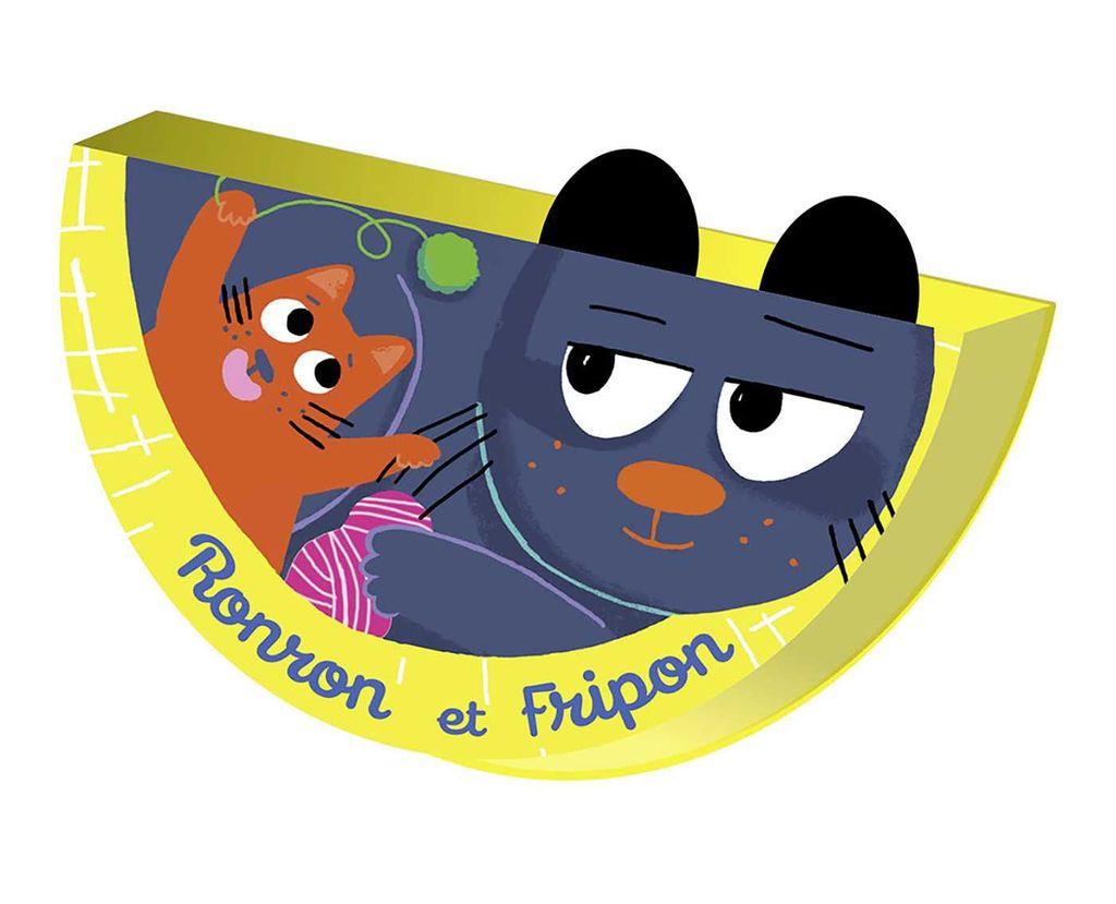 Couverture de «Ronron et Fripon»