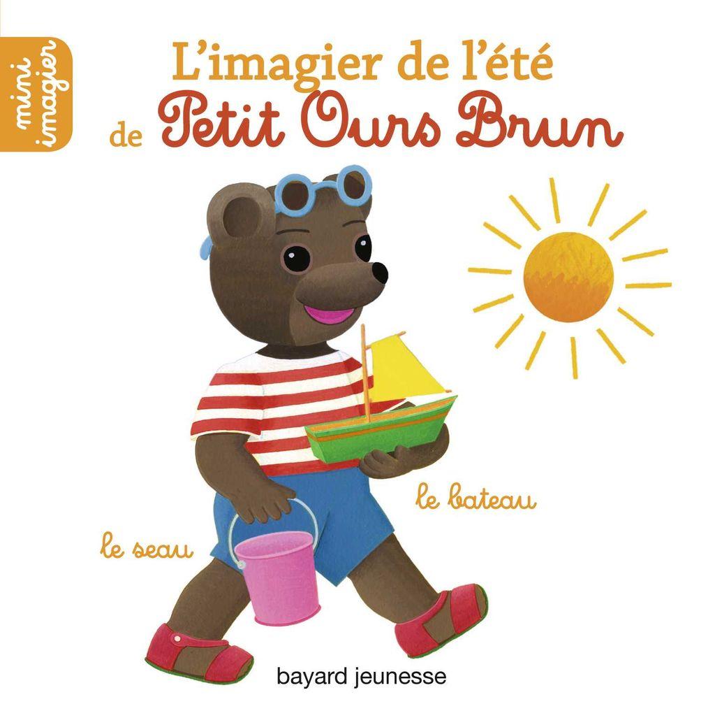 Couverture de «L'imagier de l'été de Petit Ours Brun»