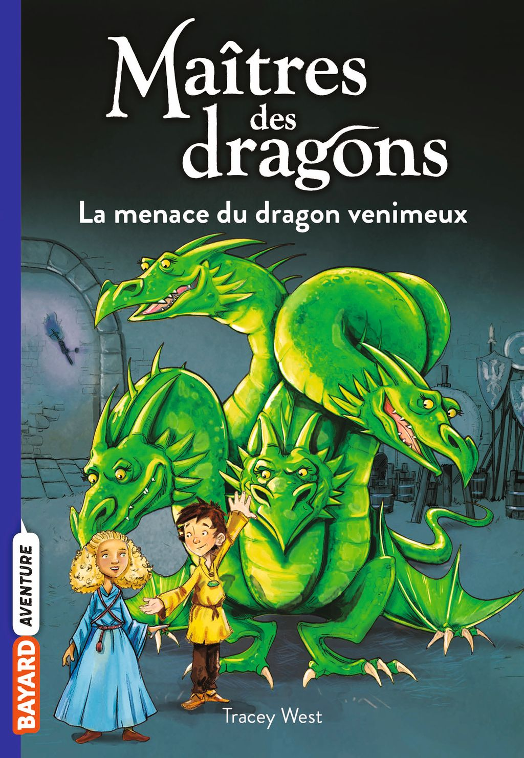 Couverture de « La menace du dragon venimeux »