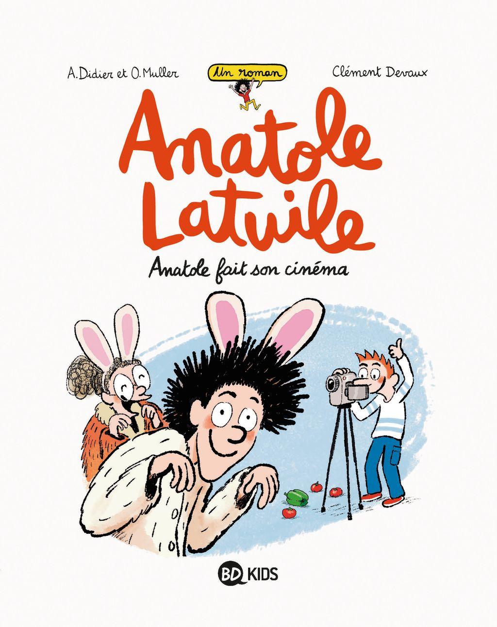 Couverture de «Anatole fait son cinéma»