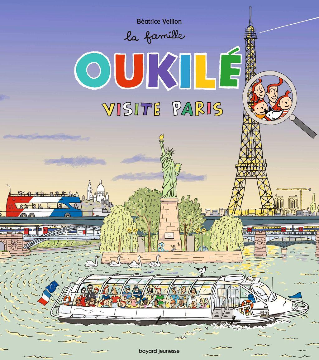 Couverture de «La famille Oukilé visite Paris»