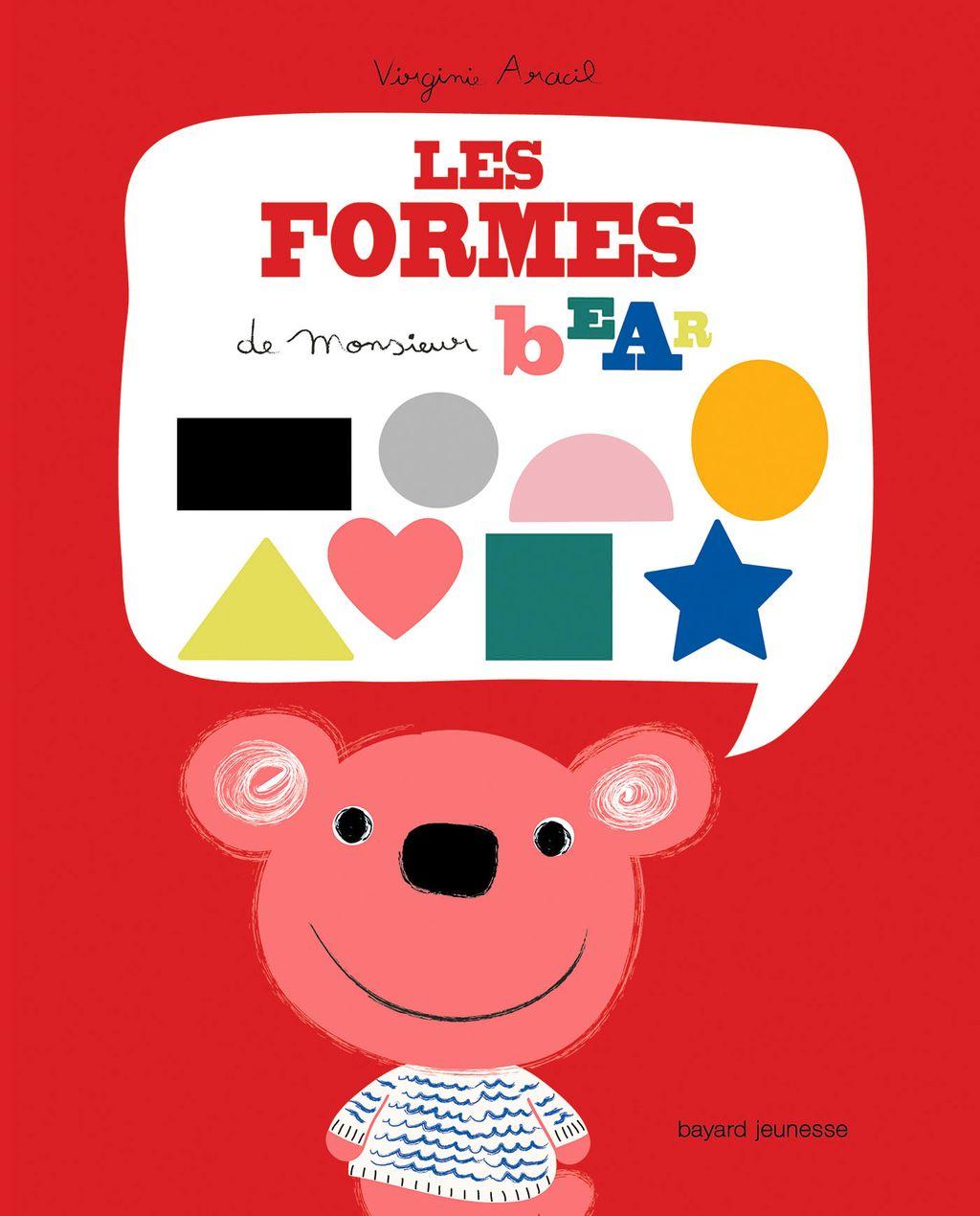 Couverture de «M. Bear Les formes»