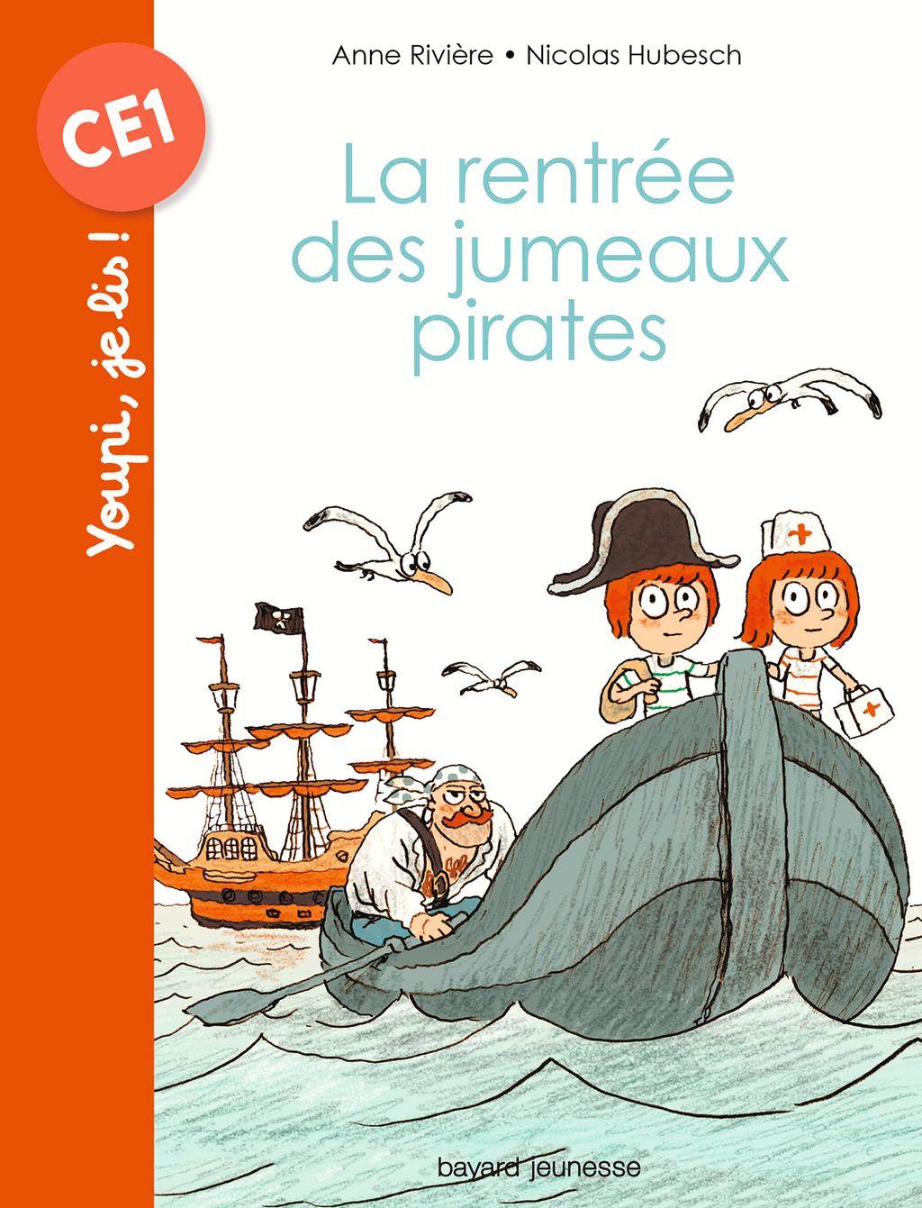 «La rentrée des jumeaux pirates» cover