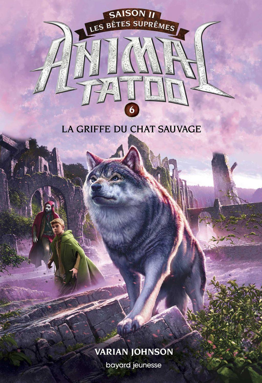Couverture de «La griffe du chat sauvage»