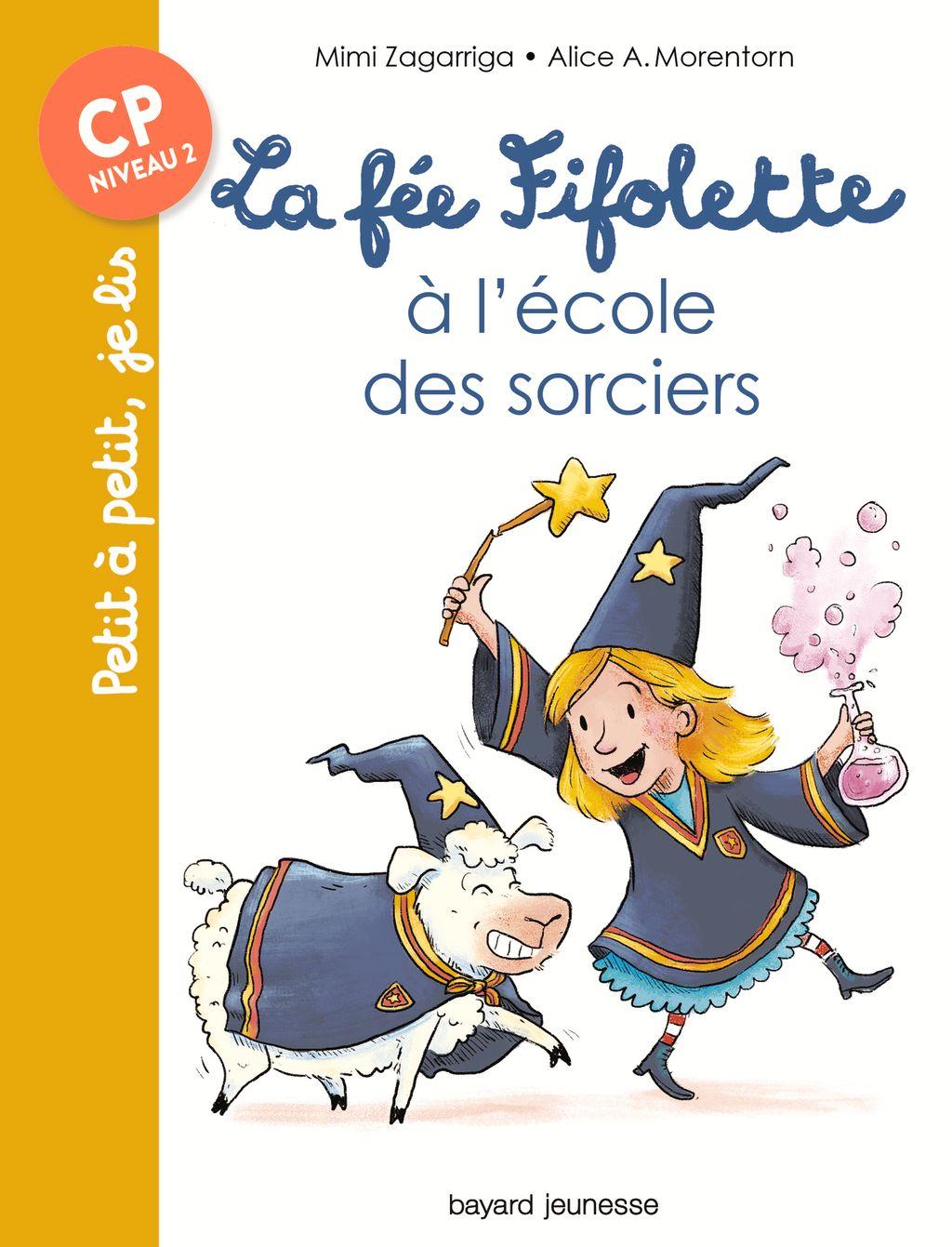 Couverture de «La fée Fifolette à l'école des sorciers»