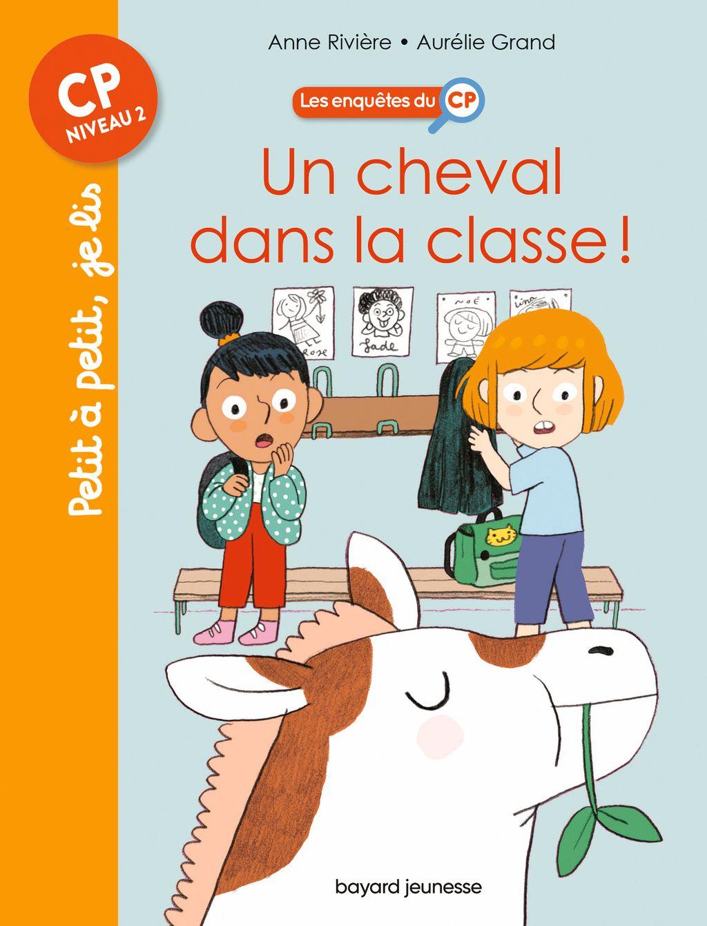 Couverture de «Un cheval dans la classe»