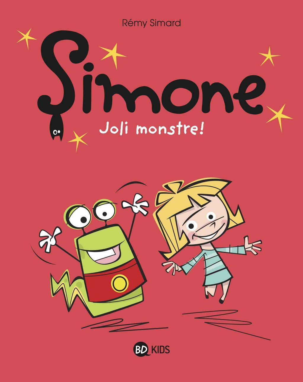 Couverture de «Simone, joli monstre !»