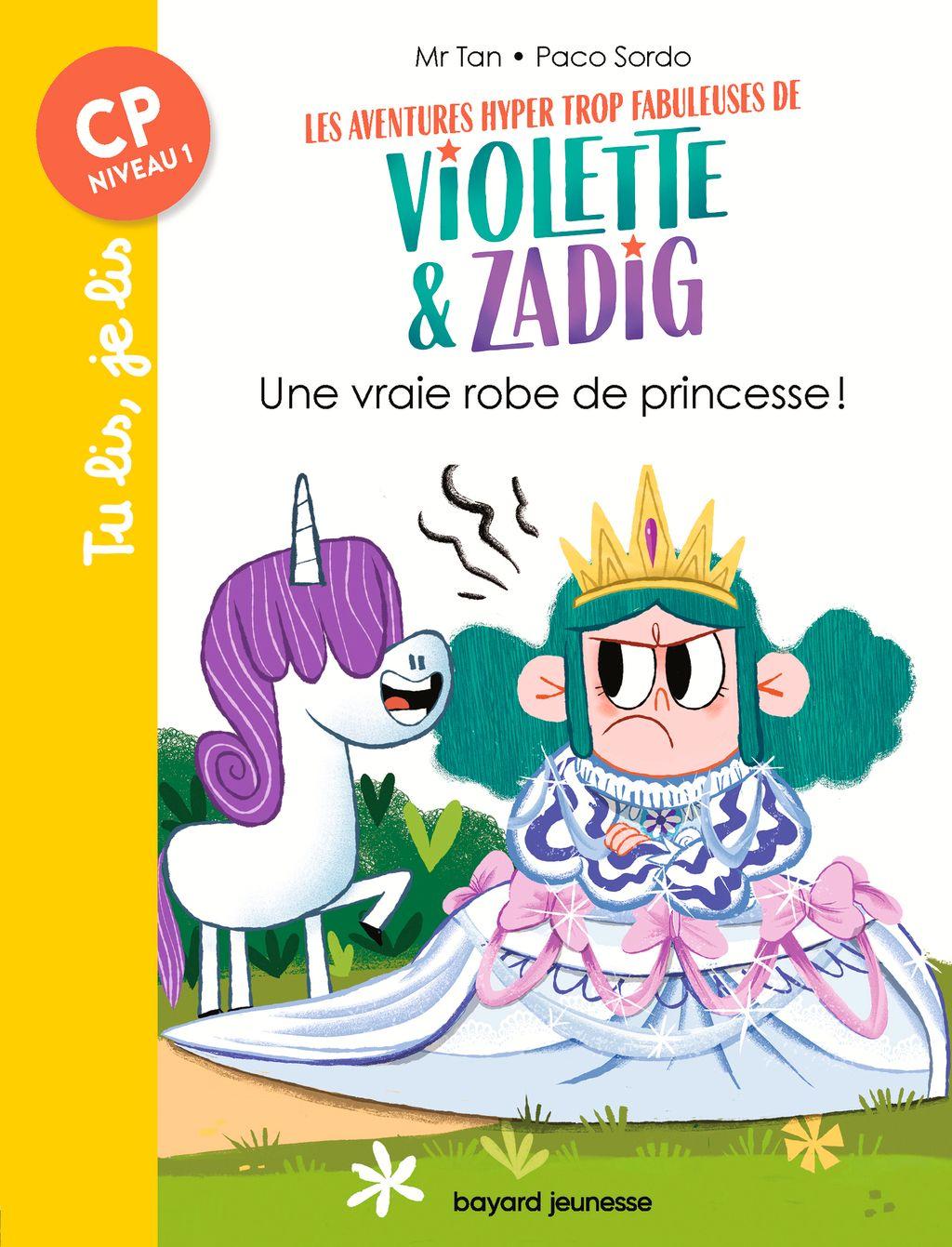 Couverture de «Une vraie robe de princesse !»