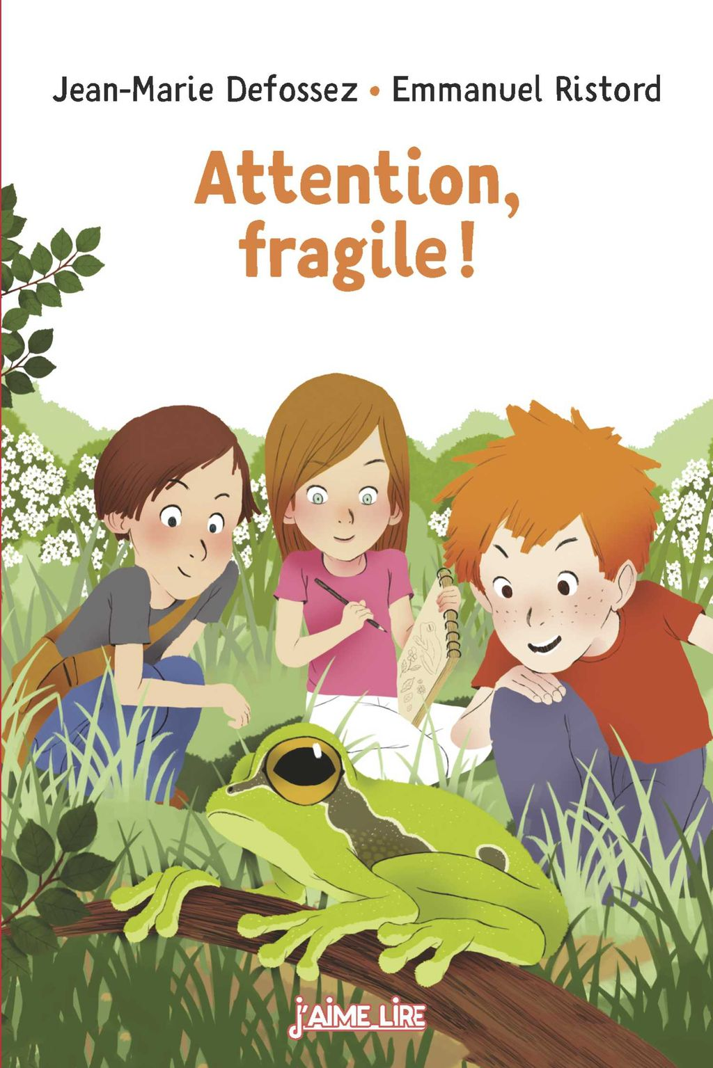 Couverture de « Attention, fragile ! »