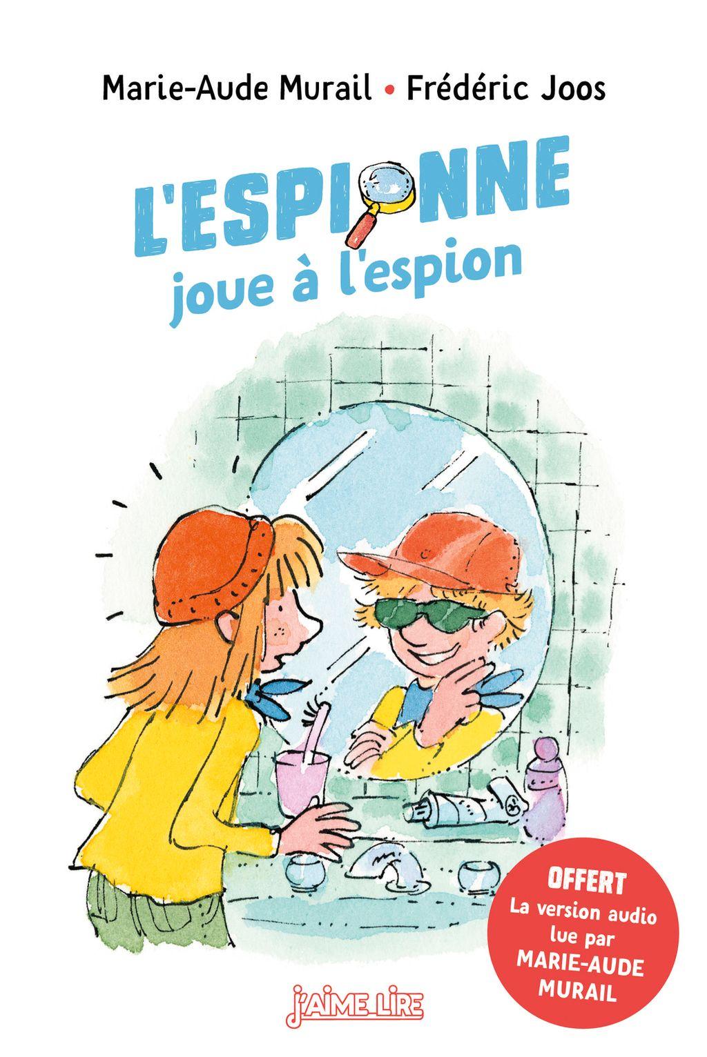 Couverture de «L'Espionne joue à l'espion»