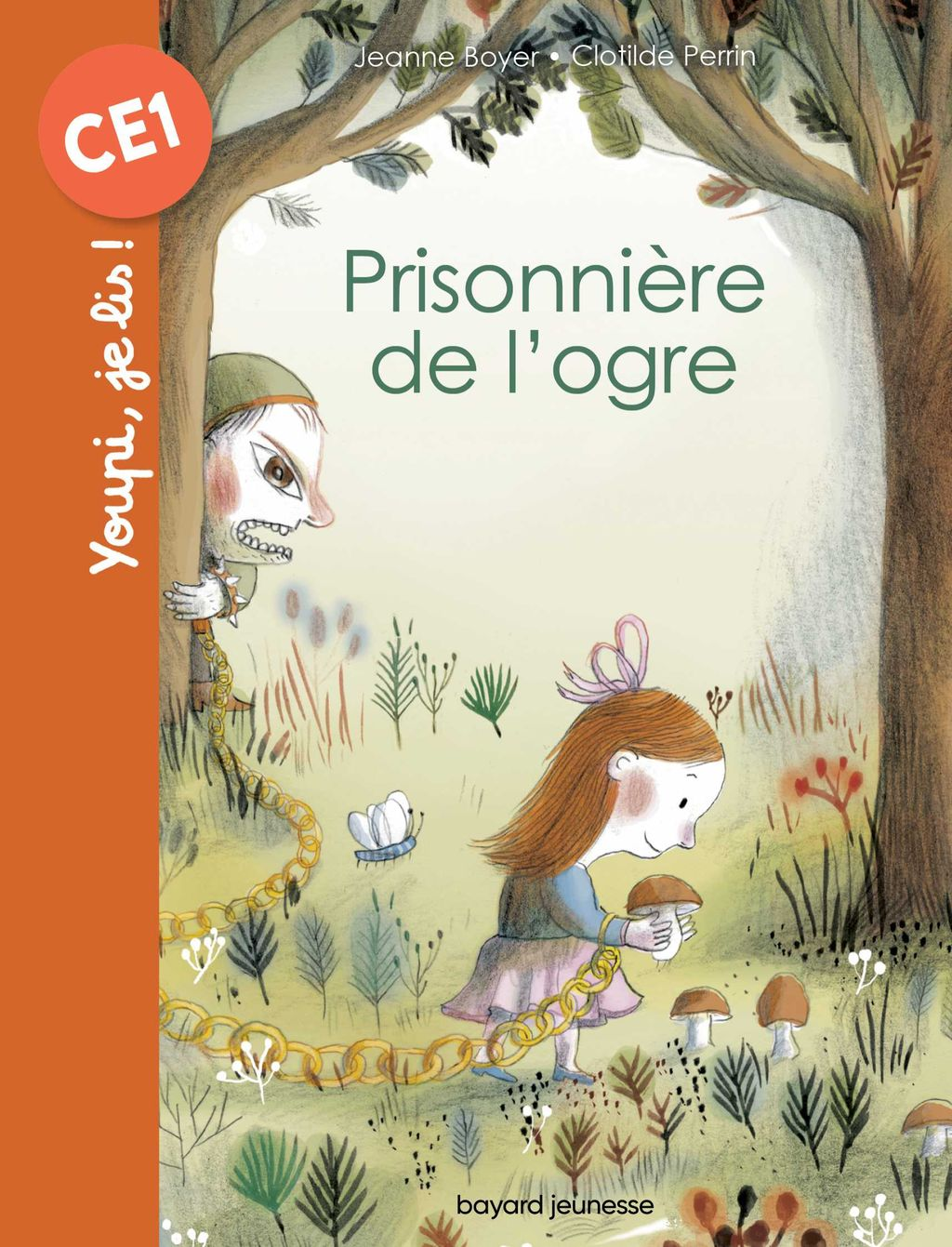Couverture de «Prisonnière de l'ogre»