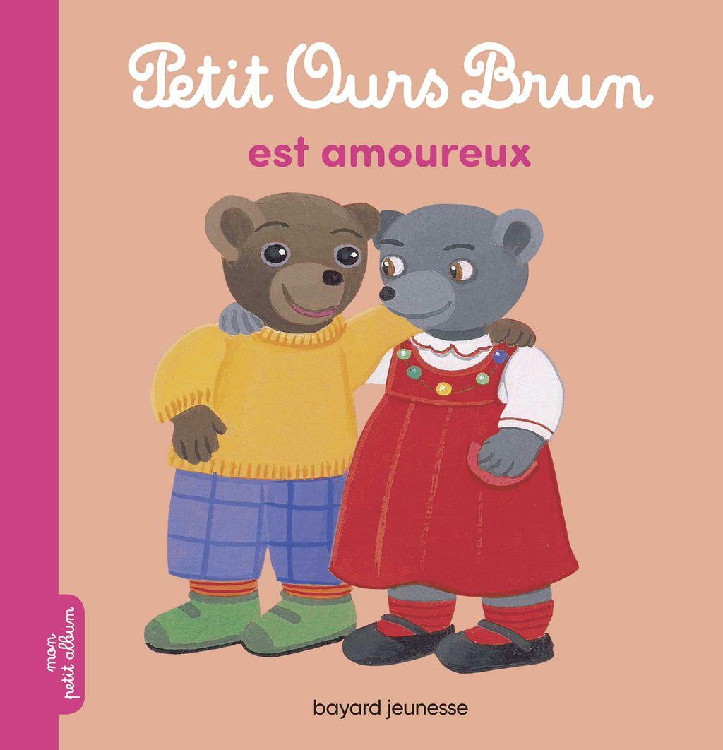 Couverture de «Petit Ours Brun est amoureux»