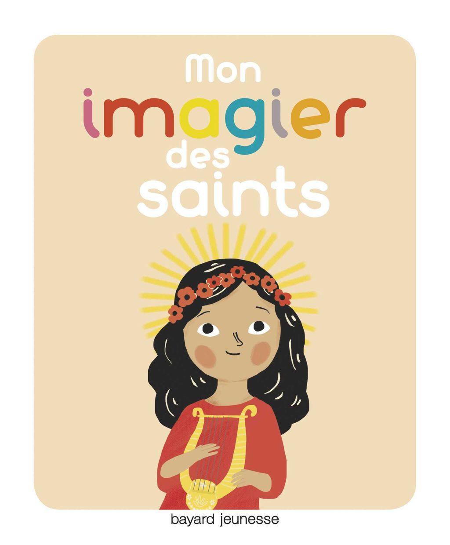 «Mon imagier des saints» cover