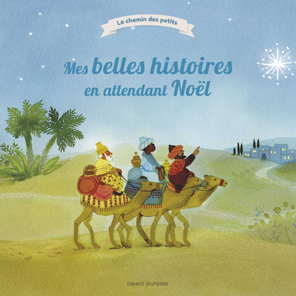 «Mes belles histoires en attendant Noël» cover