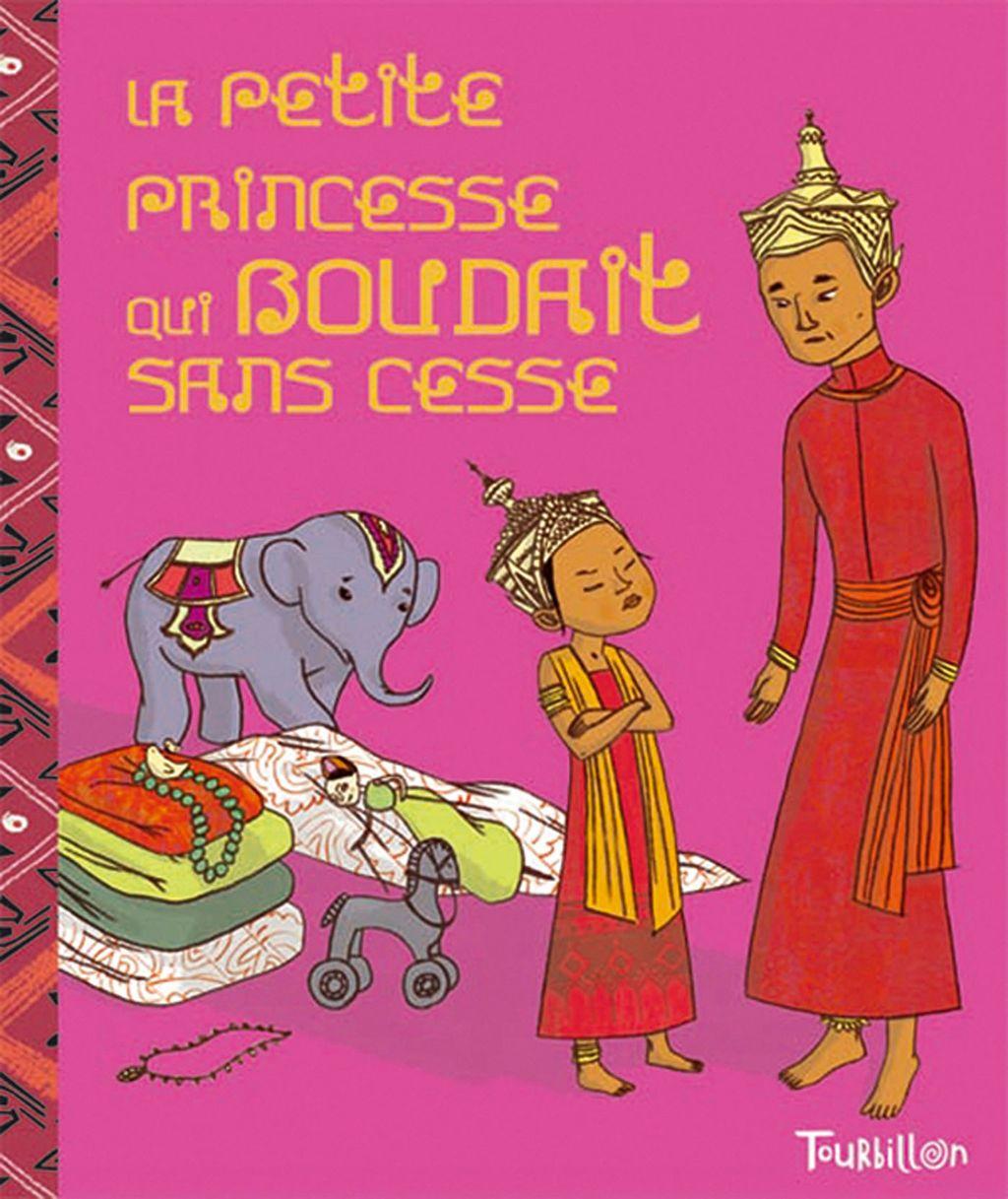 «La petite princesse qui boudait sans cesse» cover