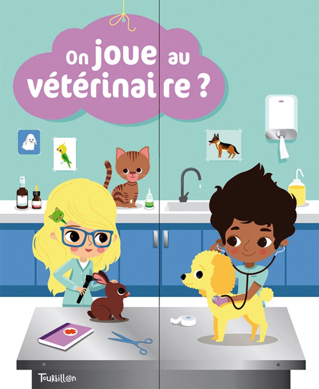 «On joue au vétérinaire ?» cover