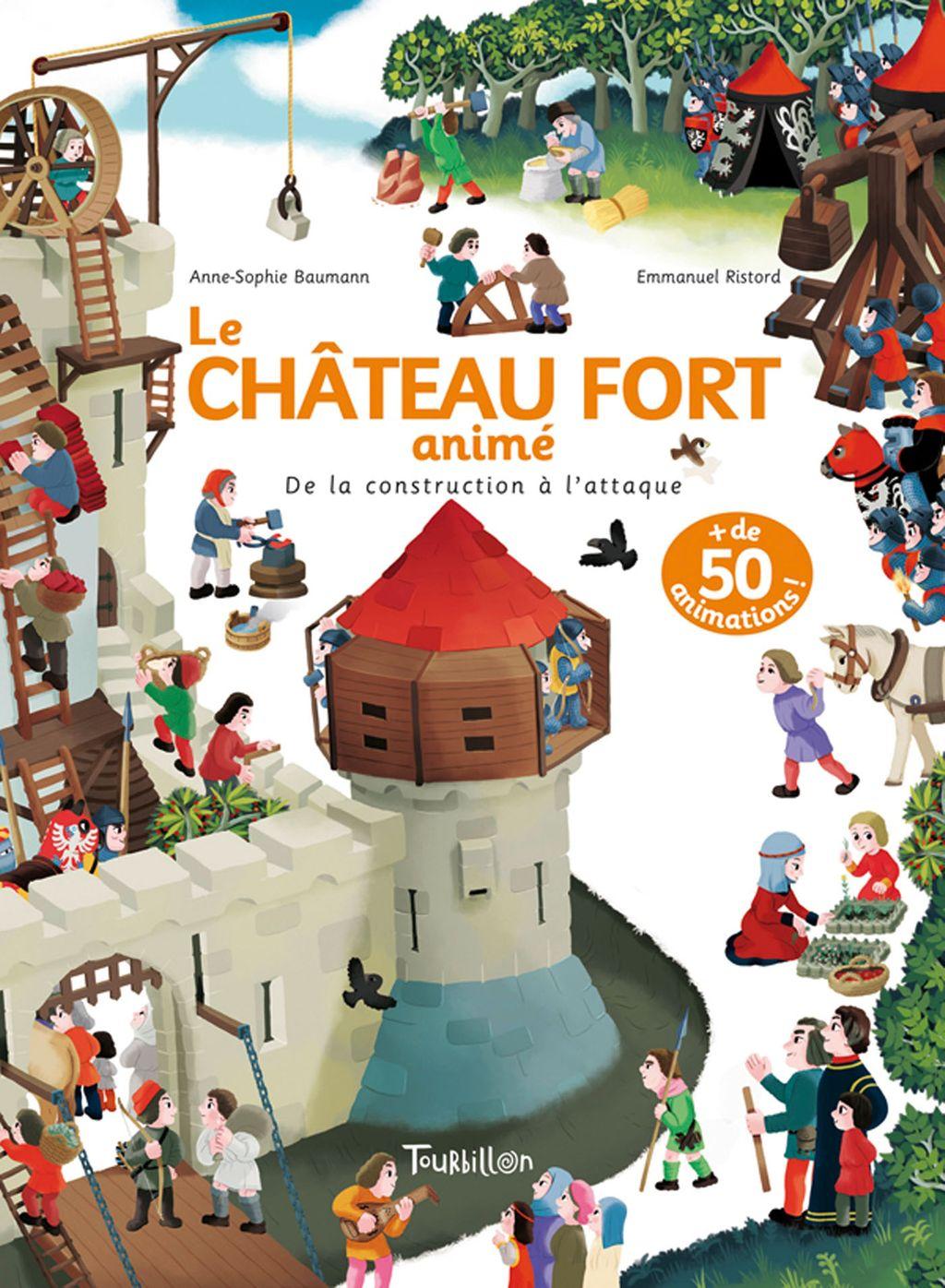 «Château fort animé» cover