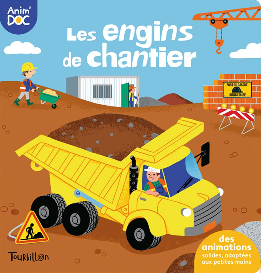 «Engins du chantier» cover