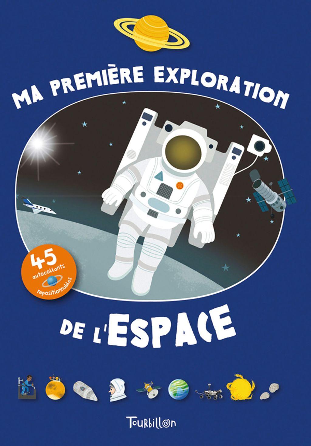 «Ma première exploration de l'espace» cover
