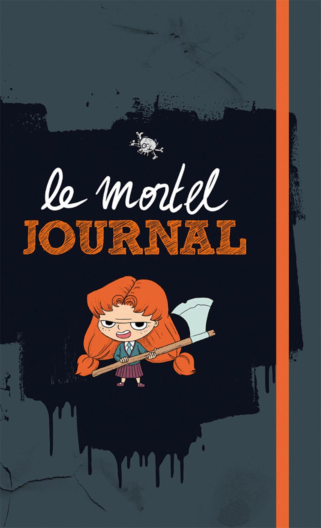 «Mortelle Adèle – Le mortel journal» cover