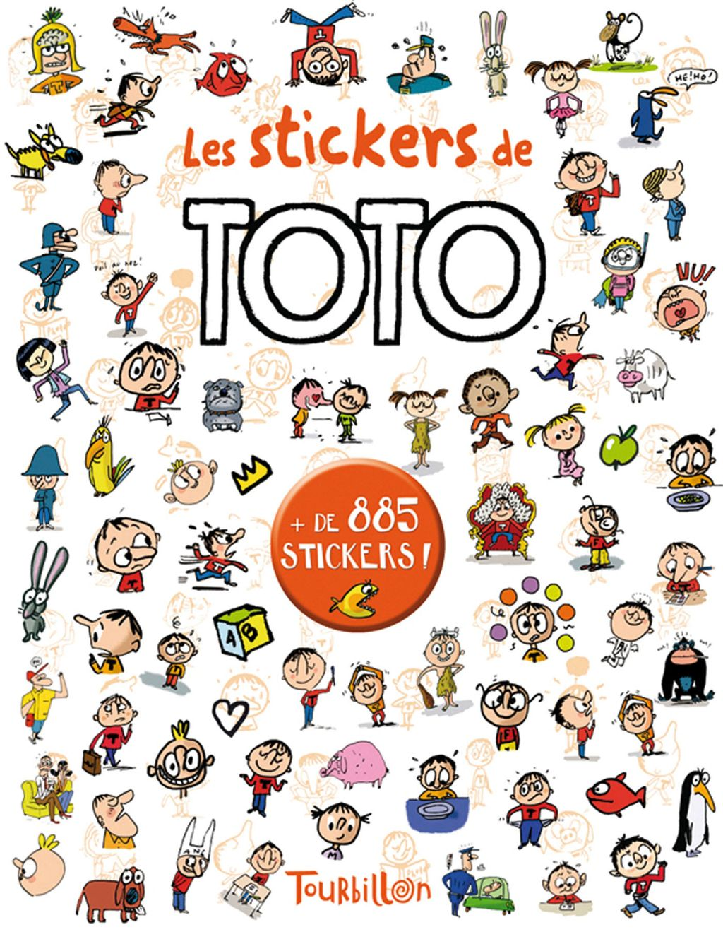 «Les stickers de Toto» cover