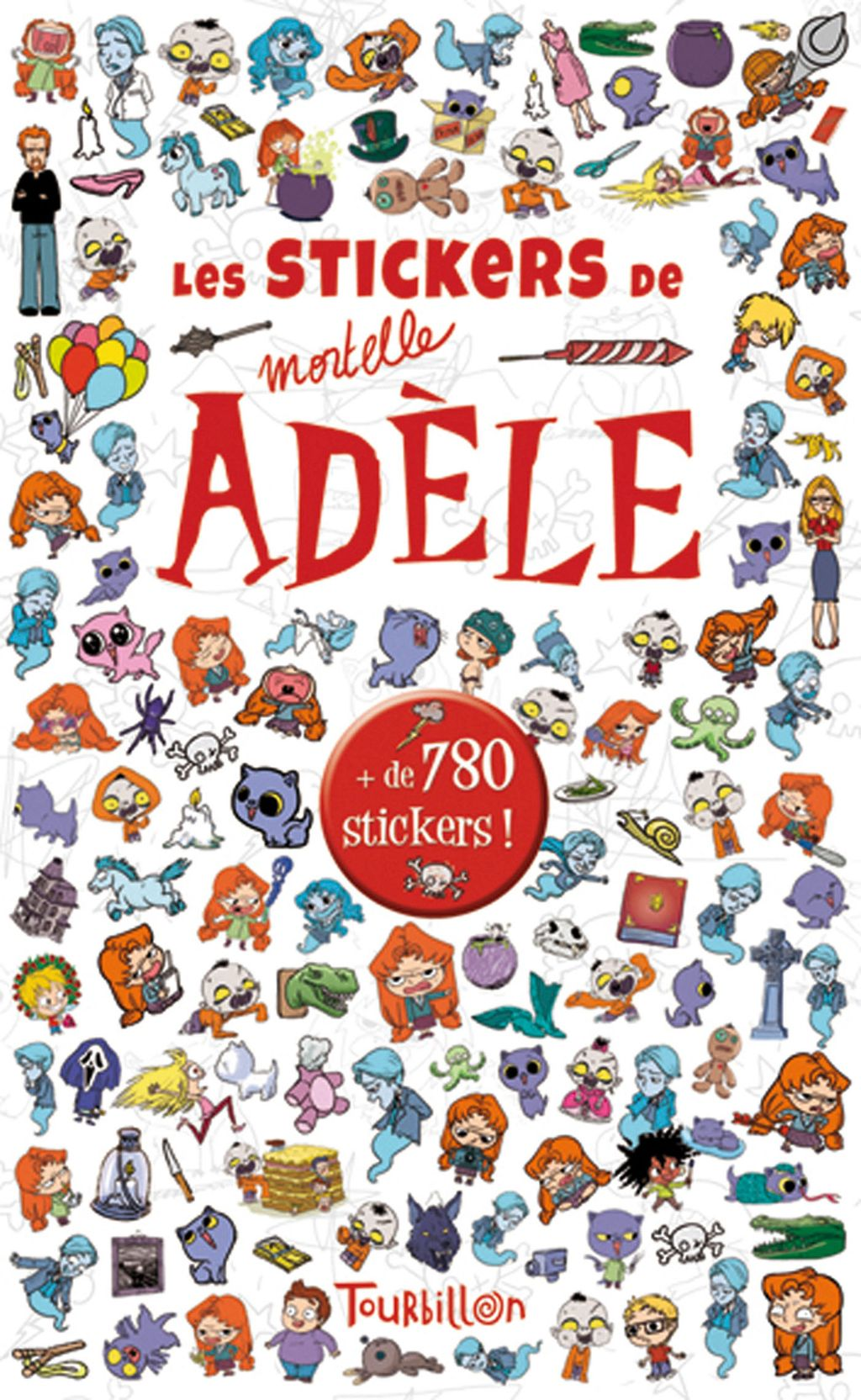 « Stickers Mortelle Adèle » cover