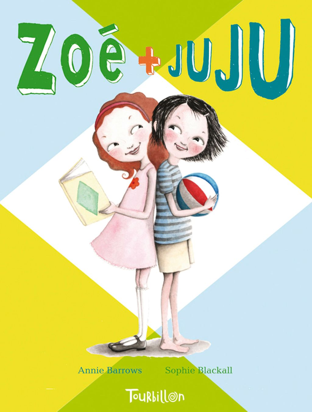 Couverture de «Zoé et Juju»