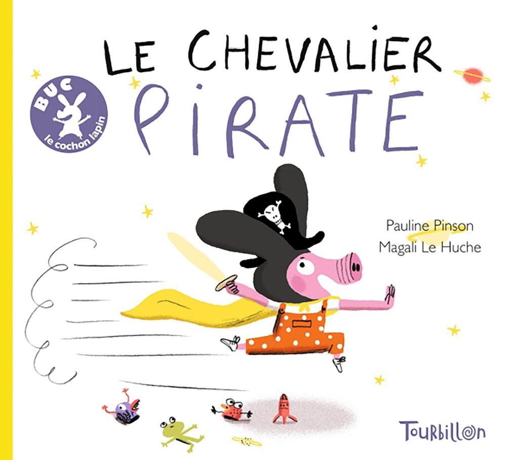 «Buc, le chevalier pirate» cover
