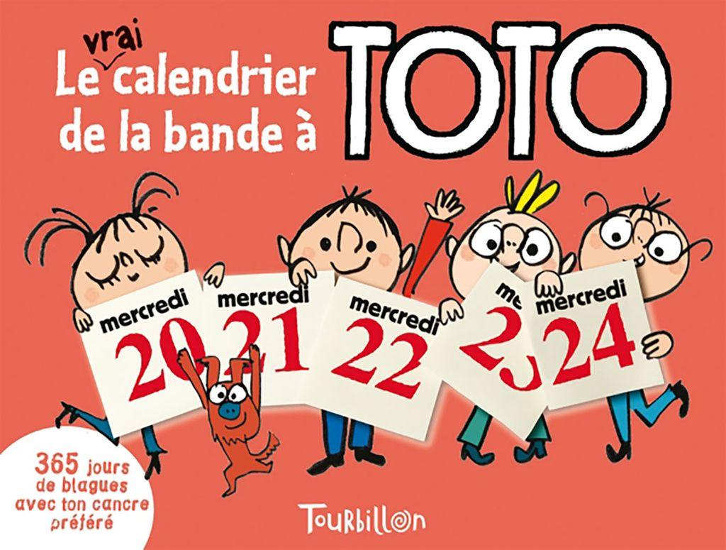 «Le vrai calendrier de la bande à Toto» cover