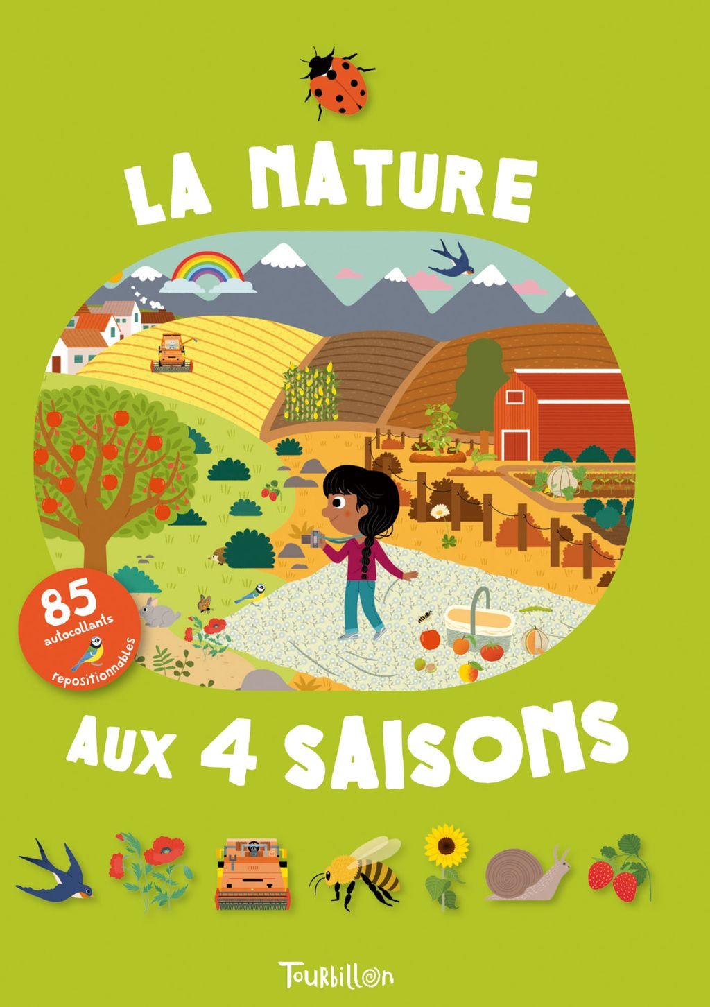 «La nature aux quatre saisons» cover