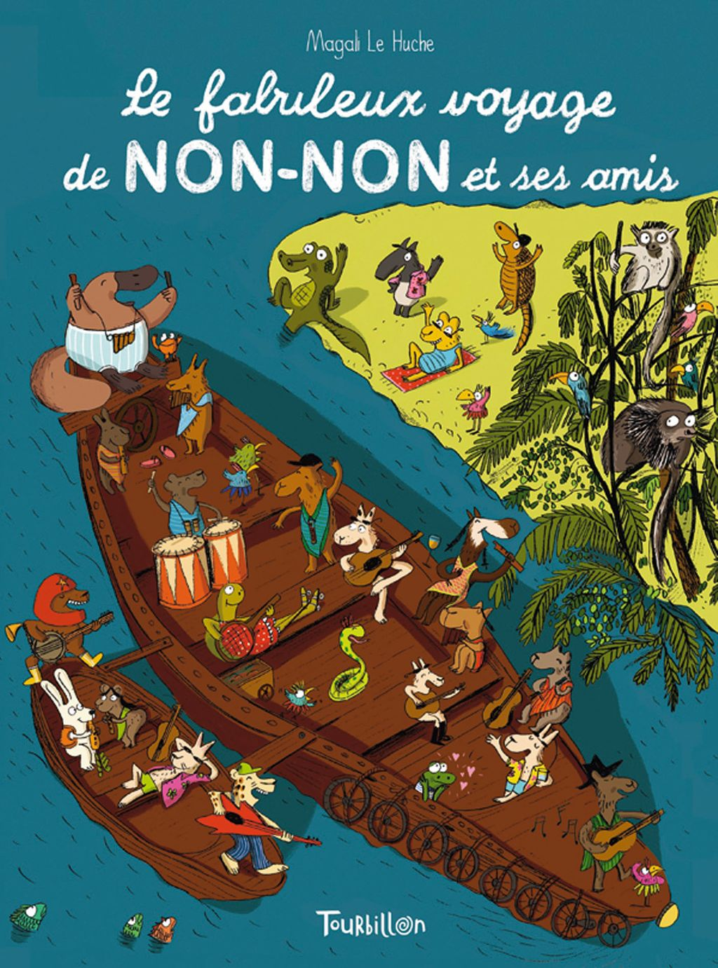 «Le fabuleux voyage de Non-Non et ses amis» cover