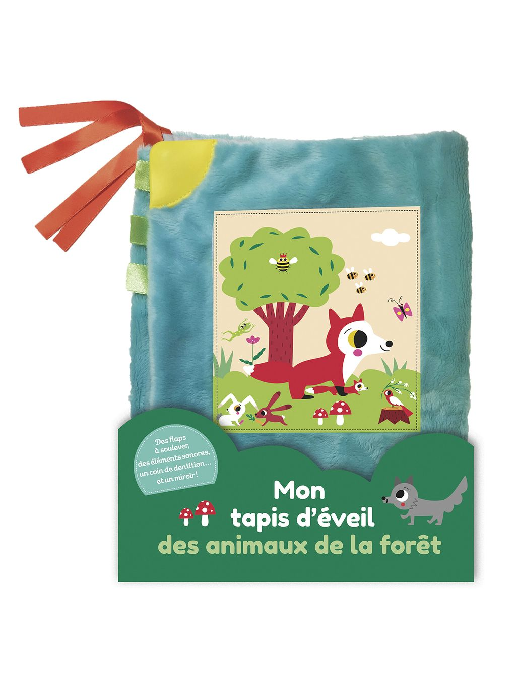 Couverture de «Mon tapis d'éveil des animaux de la forêt»