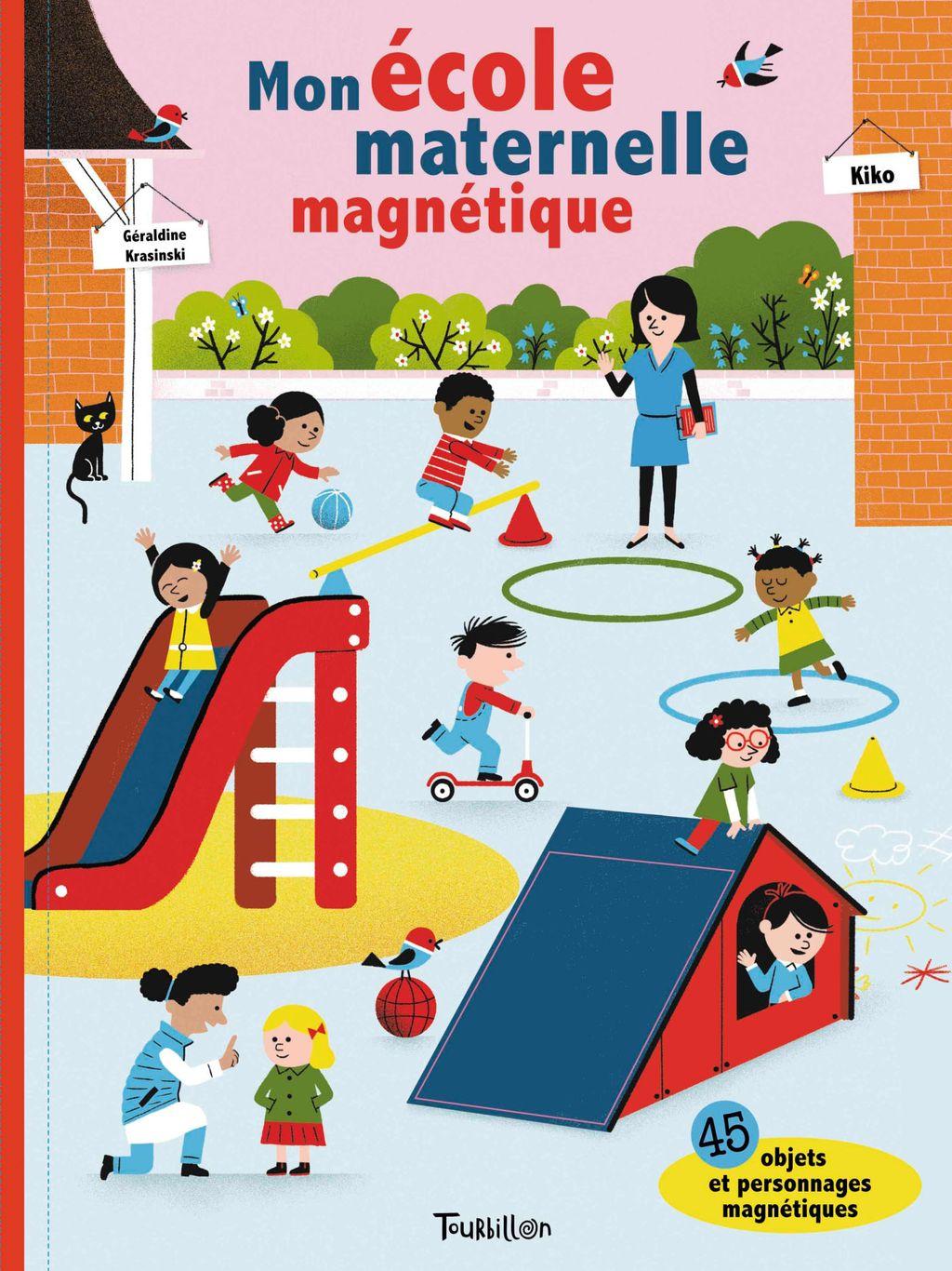 Couverture de «Mon école maternelle magnétique»